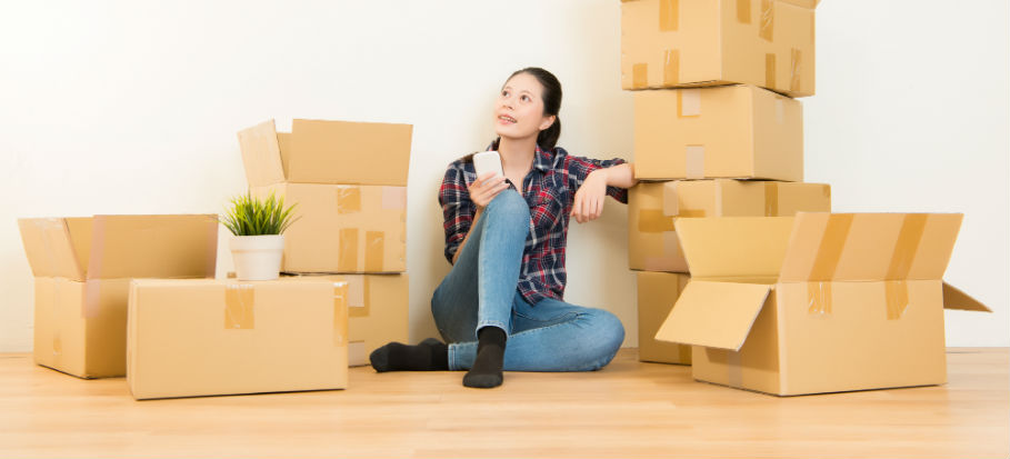 Packing Strategies for Moving to a different Home